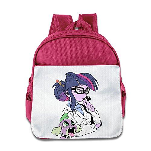 [KIDDOS Infant Toddler Kids Horse With Glasses Backpack Bag, Pink] (Fireman Sam Costume 2-3)