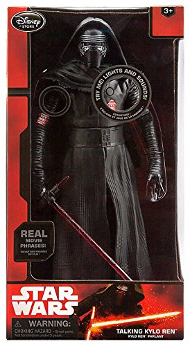 "Disney Star Wars The Force Awakens Kylo Ren 14 1/2"" Talking Action Figure"