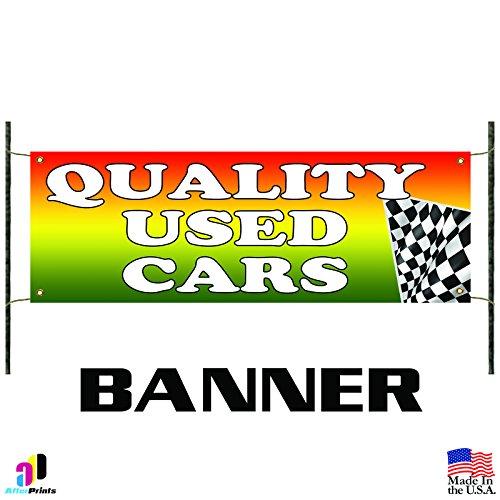 Quality Used Cars Flag Auto Dealer Advertising Pennant Vinyl