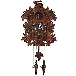 Kendal Large Handcrafted Wood Cuckoo Clock MX015-1