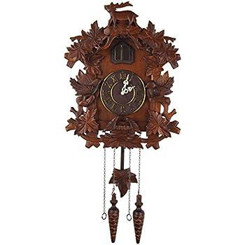 Kendal Handcrafted Wood Cuckoo Clock MX015 1