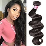 Donmily Malaysian Virgin Human Hair 1 Bundle Body Wave 100% Unprocessed Virgin Remy Human Hair Bundle Deals Natural Color(22 inch) Review
