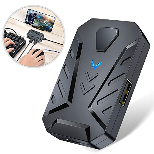 DinoFire BattleDock Mobile Game Controller Keyboard and Mouse Converter for Mobile Android Games