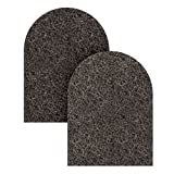 Oggi Replacement Charcoal Filters for Compost Pails # 7319, Set of 2