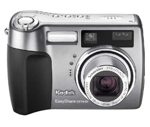 amazon com kodak easyshare dx7440 4 mp digital camera with