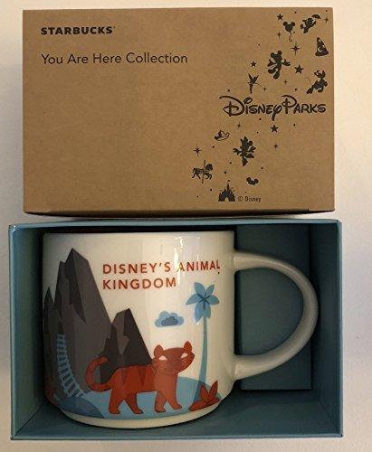 Disney's Animal Kingdom Starbucks Version 2 You Are Here Coffee Mug