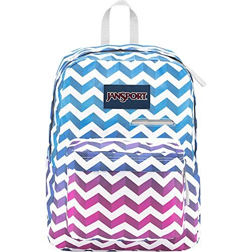 JanSport Digibreak Laptop Backpack- Sale Colors (Shadow Chevron)