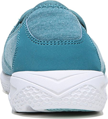 Ryka Womens Harlow Fashion Sneaker Deep Harbor / Teal Blast