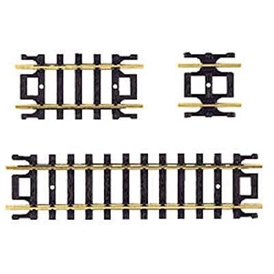 Atlas N Code 80 Nickel Silver Straight Snap-Track Assortment Trains: Toys & Games