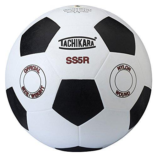 Tachikara SS5R Rubber Soccer Ball (Size 5) -