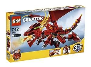 LEGO Creator 6751 - Dragón que escupe fuego