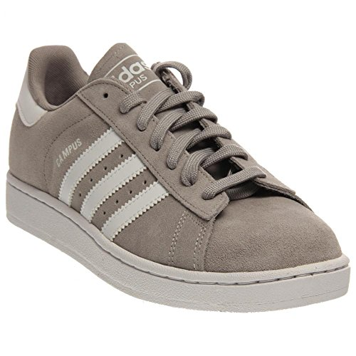 adidas Originals Men's Campus 2 Lifestyle Basketball Sneaker, Solid Grey/Running White/Solid Grey, 9 M US