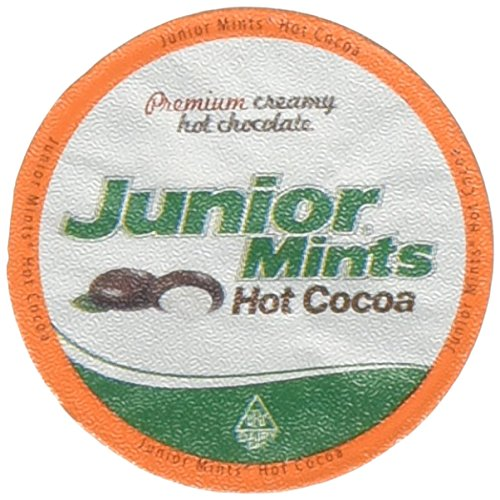 Junior Mints Hot Cocoa Single Serve - 12ct Dark Chocolate Mint Cups