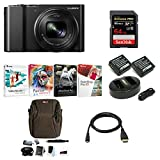 Cheap Panasonic Lumix DMC-ZS100 Digital Camera Bundles (Premium Bundle, Black)