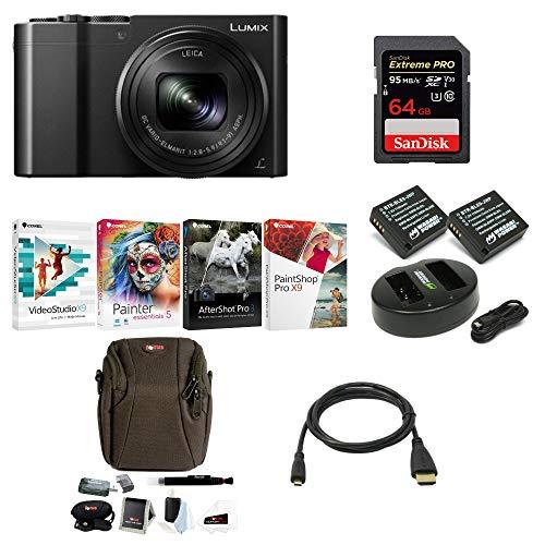 Panasonic Lumix DMC-ZS100 Digital Camera with 64GB SD Card a