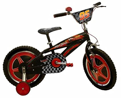 Amazon.com: Disney Cars McQueen Bike (16-Inch Wheels ...
