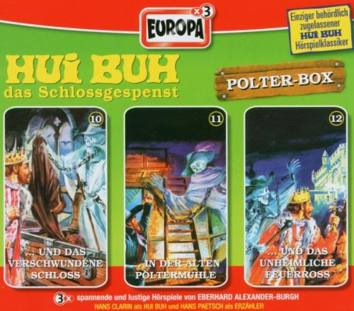 Hui Buh, das Schlossgespenst Box 04. Folgen 10-12. Polterbox. 3 CDs