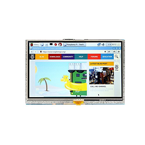 SainSmart Raspberry 800x480 Screen Display