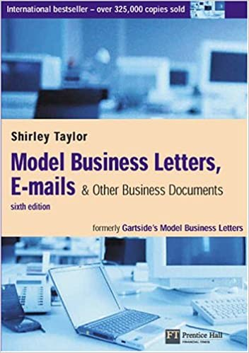 Model Business Letters, E-mails & Other Business Documents: Amazon ...