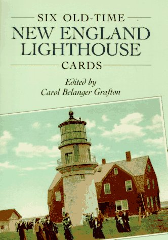 (Six Old-Time New England Lighthouse Cards (Dover Postcards) )