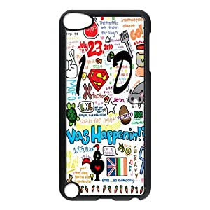 LeonardCustom Hard Slim Cover Case for iPod Touch 5 (5th Generation), One Direction -LCP5U73