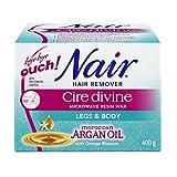 Cheap Nair Cire Divine Microwaveable Body Hair Removal Wax Kit (Moroccan Argan Oil, 400g/14oz)