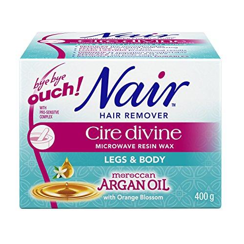 nair-cire-divine-microwaveable-body-hair-removal-wax-kit-moroccan-argan-oil-400g-14oz