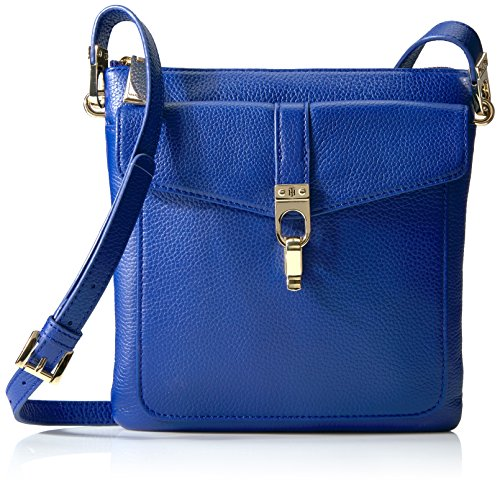 Tommy Hilfiger Kira Leather Crossbody, Cobalt
