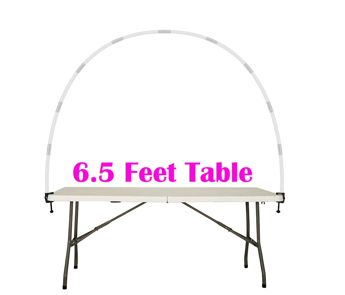 Balloon Arch Kit Adjustable for Different Table Sizes Birthday, Wedding, Christmas, and Graduation Party by Party Zealot (Image #5)