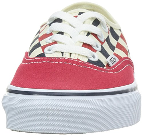 Vans U Authentic, Baskets Mode Mixte Adulte Rojo (Golden Coast)