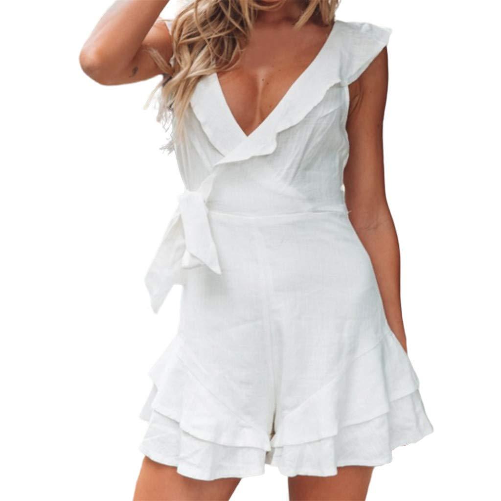 Caopixx Dress DRESS レディース B07QH2B6LT ホワイト XX-Large
