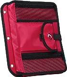 Case-it Locker Accessory 5-Tab File, Red, ACC-21-RED