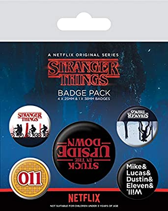 Stranger Things - Pack de chapas
