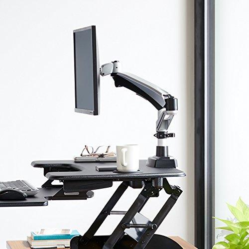 VARIDESK Monitor Arm - Full-Motion Spring Single-Monitor Arm