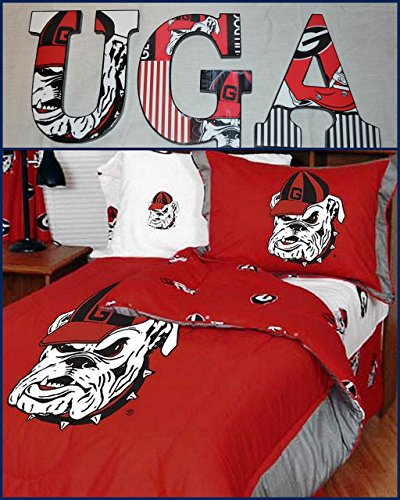 Bulldogs Letter (Georgia Bulldogs Wooden Letters Wall Décor)
