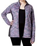 Product review for Ideology Plus Size Spaced-Dyed Jacket