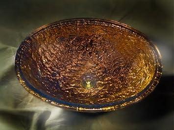 JSG Oceana 007 007 010 Bathroom Undermount, Cobalt Copper