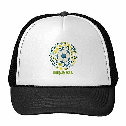 DIYthinker Gorra de béisbol Camiseta de fútbol Trofeo Viva Lema ...