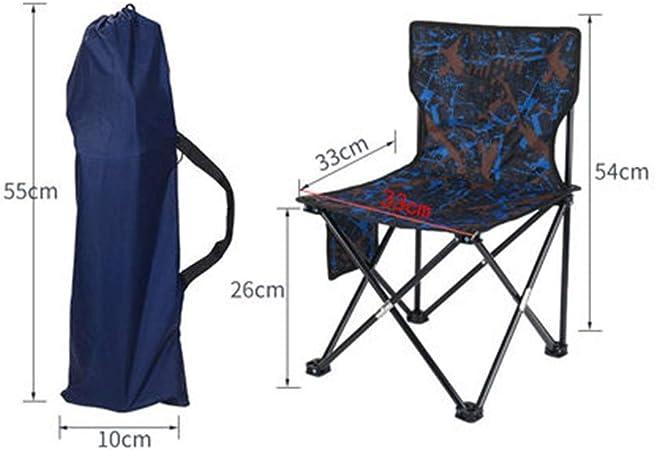 Camping Voyage Chaise Randonnée Pliable Portable jardin pêche plein air chaise siège