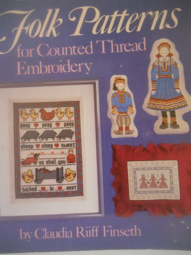 [Scandinavian Folk Patterns for Counted Thread Embroidery] (South Pacific Costumes)
