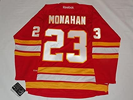 Sean Monahan Signed Calgary Flames 23 Alternate Jersey Licensed Proof Jsa Coa Autographed Nhl Jerseys At Amazon S Sports Collectibles Store