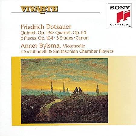 Friedrich Dotzauer: Chamber Music For Strings Quintet, Op. 134 / Quartet, Op. 64 / 6 Pieces, Op. 104 / 3 Etudes / Canon Anner Bylsma / L'Archibudelli / Smithsonian Chamber Players