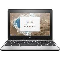 Premium HP High Performance 11.6 HD Chromebook - Intel Dual-Core Celeron N3060 Up to 2.48GHz, 4GB DDR3, 16GB eMMC, 802.11bgn, Bluetooth 4.0, USB 3.1, Webcam, HDMI, Chrome OS(Certified Refurbished)