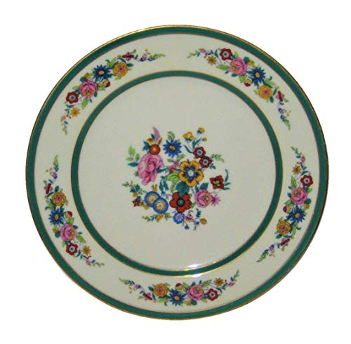 C. Ahrenfeldt Limoges for Wright Tyndale & Van Roden 7 1/2 Inch Porcelain Plates, Set of 10