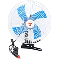 6/8/10inches DC 12V/24V Half/all Cover Car/Truck Fan Clip Fan Vehicle Electric (24V, 10 in. half cover)