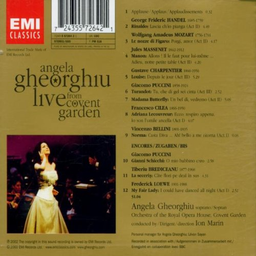 Angela Gheorghiu: Live From Covent Garden by EMI Classics (Image #1)
