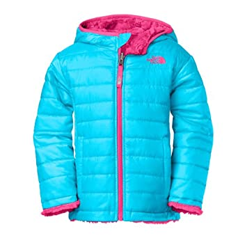 34db936f2bf3 Amazon.com  North Face Toddler Reversible Mossbud Swirl Jacket Girls ...