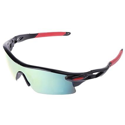 c8dd860dbca GaoCold Cycling Glasses UV400 Sunglasses Outdoor Sport Goggles Bicycle  Eyewear for Men Women Black Frames