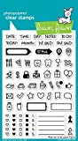 #5: Lawn Fawn Clear Stamp - Plan On It