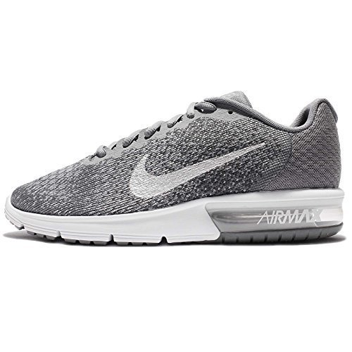 da540dae2e Galleon - NIKE Air Max Sequent 2 Mens Running Trainers 852461 Sneakers Shoes  (US 10, Cool Grey Metallic Silver 009)